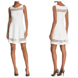 FRENCH CONNECTION Tobey Illusion Fit & Flare Dress